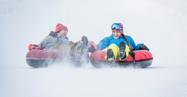 Snow tubing in Whistler - Tourism Whistler