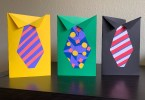 Cute homemade Father's Day tie cards for kids to make