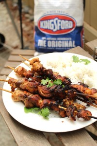 Grilled Piri Piri Chicken Skewers recipe - Kingsford Original Charcoal