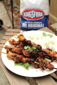 Grilled Piri Piri Chicken Skewers recipe - Kingsford Original Charcoal