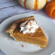 Easy Pumpkin Chiffon Pie Recipe