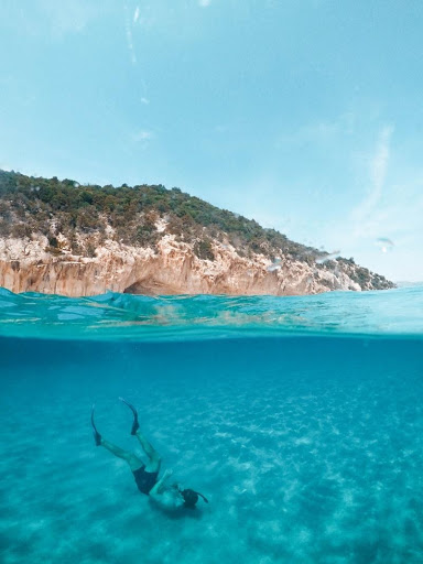 Snorkeling in the Caribbean islands
