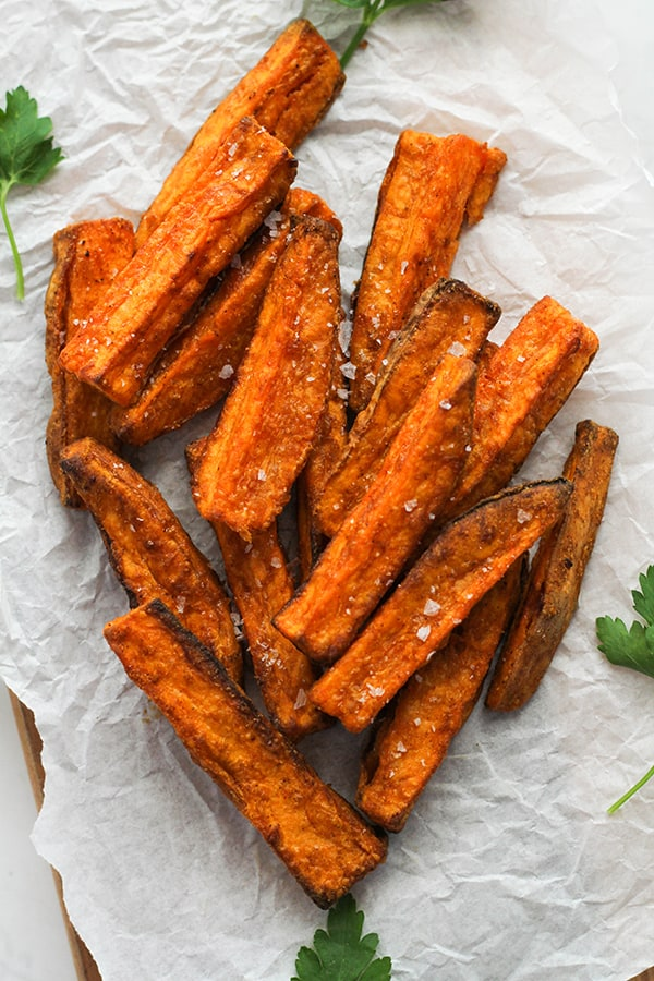 Sweet potato wedges recipe in the air fryer