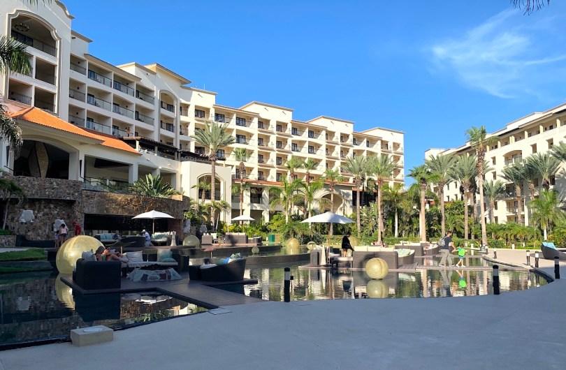 View of the Hyatt Ziva Resort in Cabo