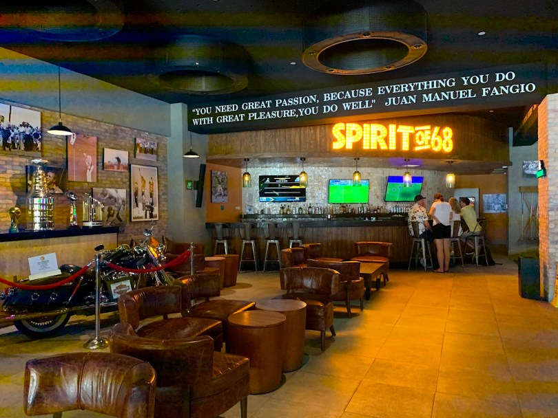 Spirit of 68 sports bar, Hyatt Ziva in Cabo