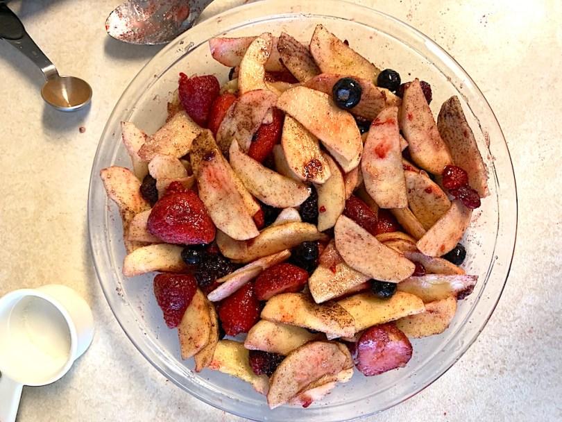 Apple berry filling recipe