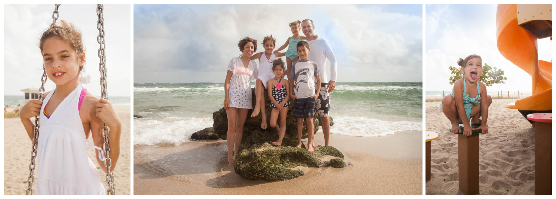 Fun Family Photographs at the Beach!
