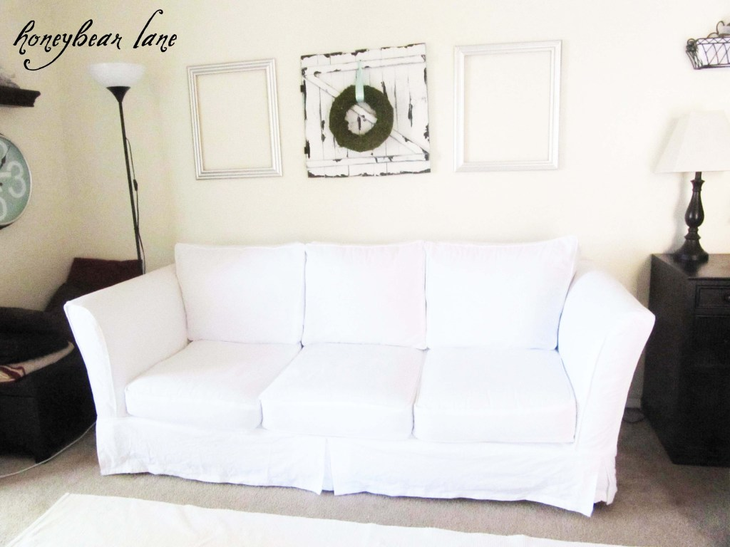 Outstanding How To Make A Couch Slipcover Part 1 Pabps2019 Chair Design Images Pabps2019Com
