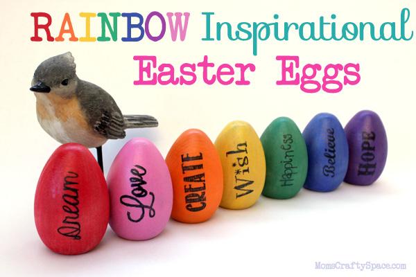 Rainbow-Inspirational-Words-Citrasolv-Transfer-Easter-Eggs