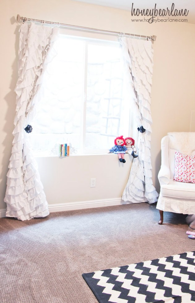 How to Make Ruffled Curtains