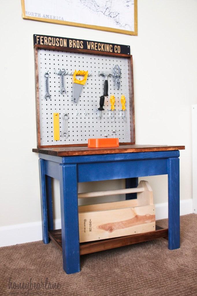Little Boy's Workbench