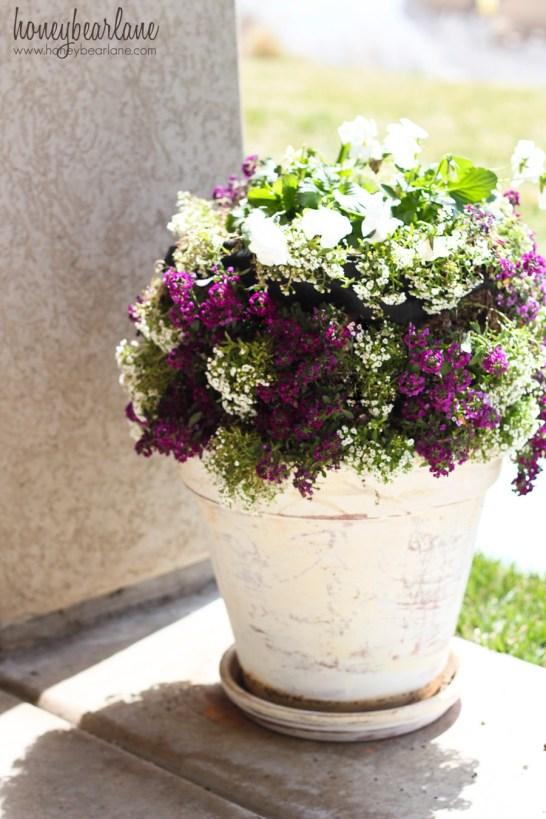 miniature flower tower