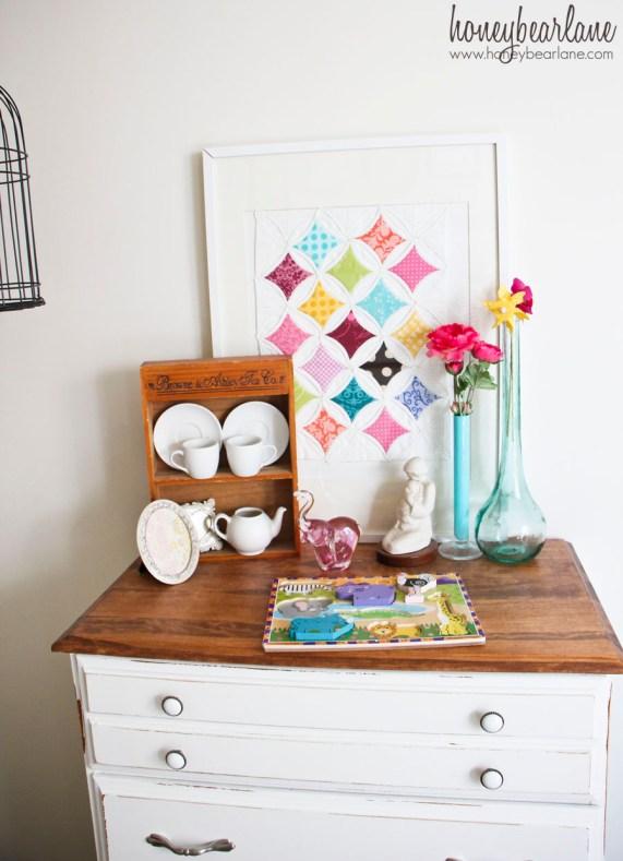 dresser in a nursery