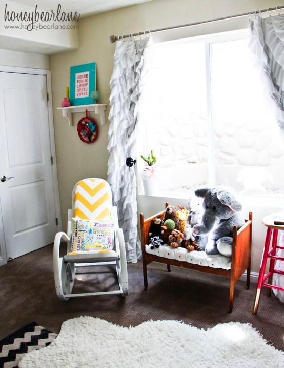 vintage crib