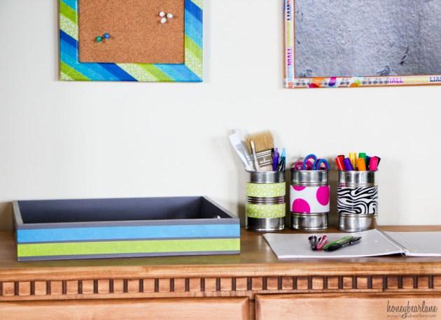 easy kids homework station
