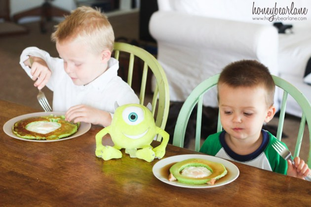 monsters university pancakes