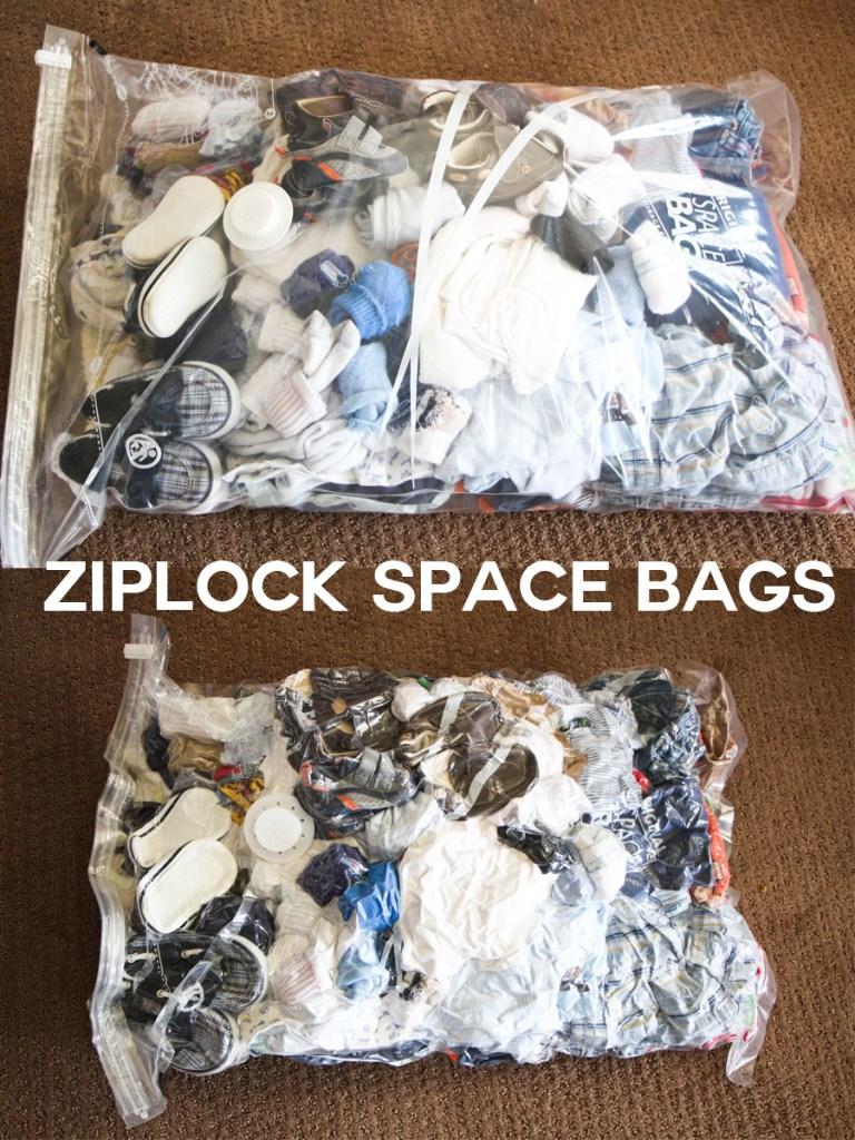 ziplock space bags