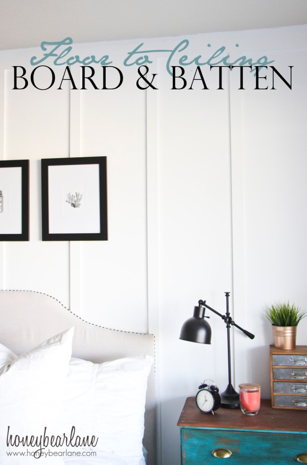 floor to ceiling board and batten
