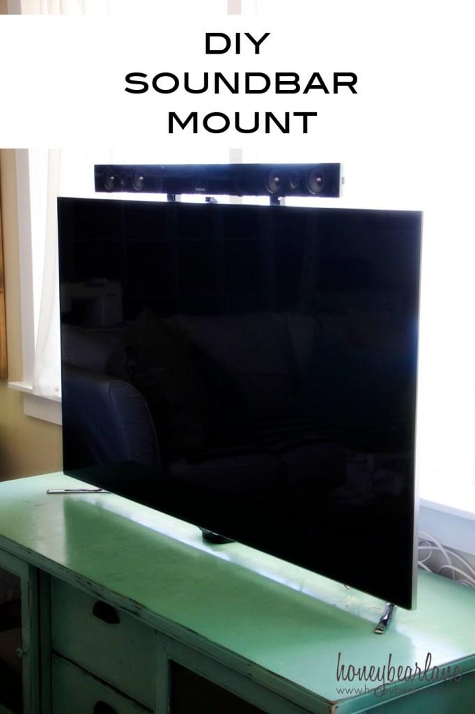 DIY Soundbar Mount