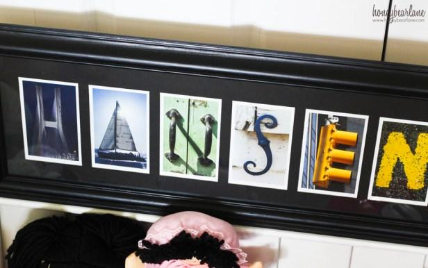 photo name art