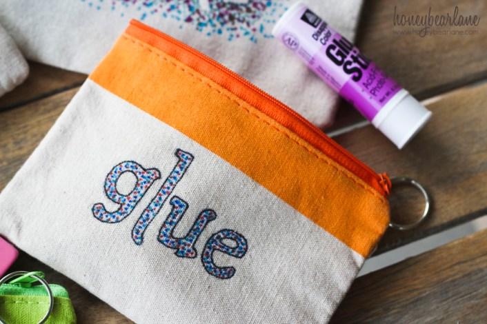 sharpie glue bag