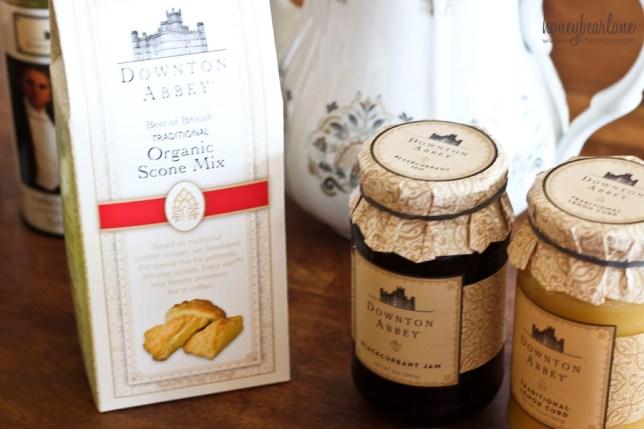downton abbey tea party stuff