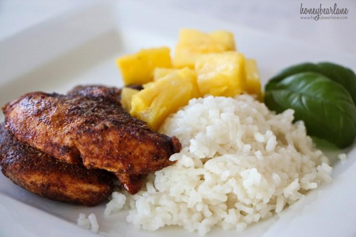 island spice chicken