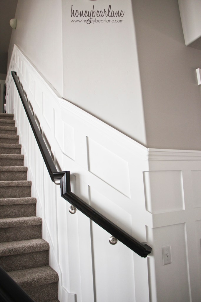 stairs board and batten
