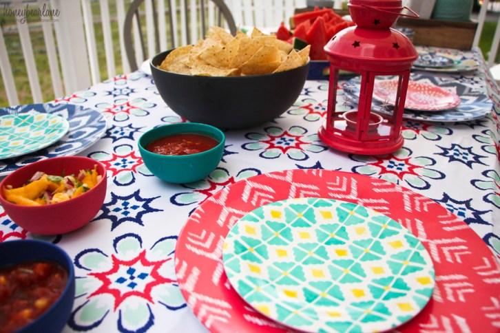 target style dinner plates