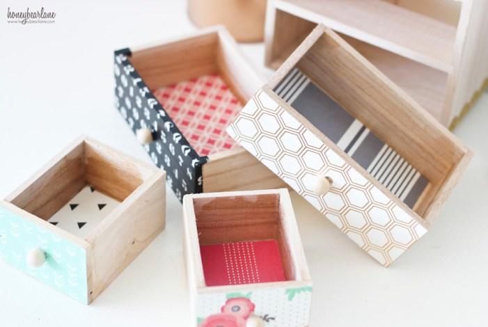 mini drawers