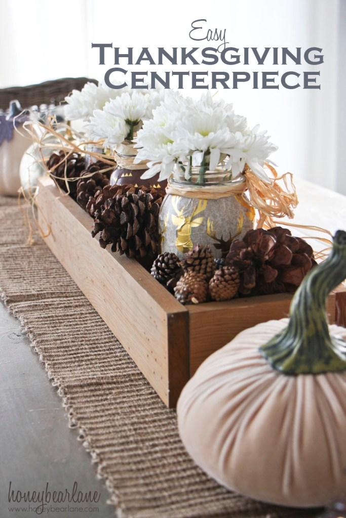 easy thanksgiving centerpiece