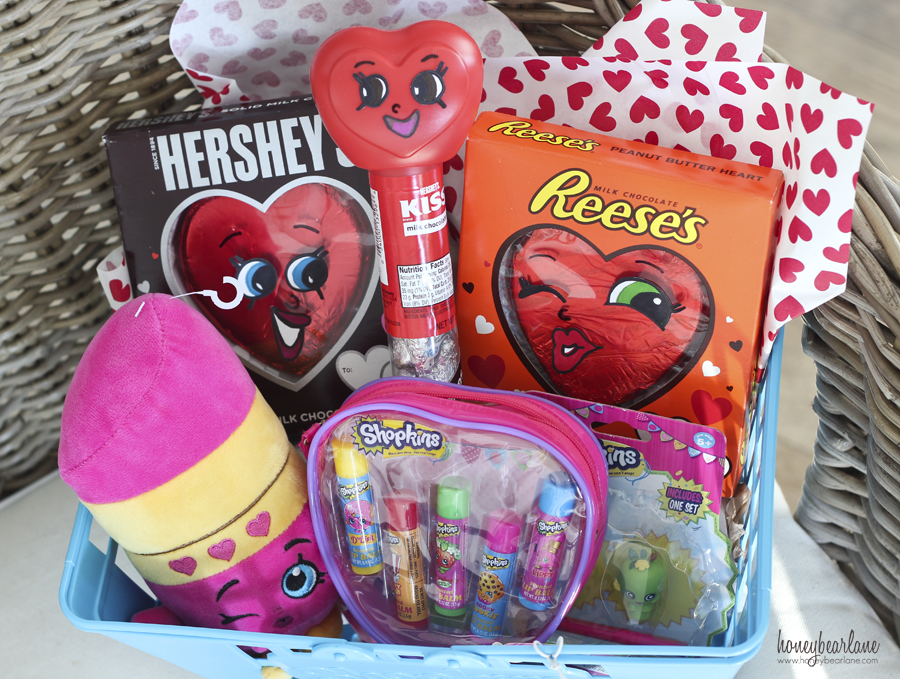 Shopkins Valentines Basket HoneyBear Lane