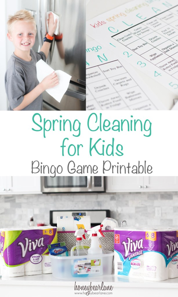spring cleaning for kids