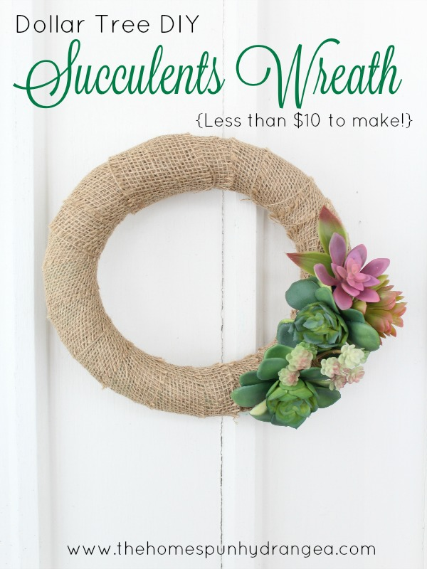 25 Beautiful DIY Spring Wreaths - these are great for Easter and Spring decor to brighten things up!