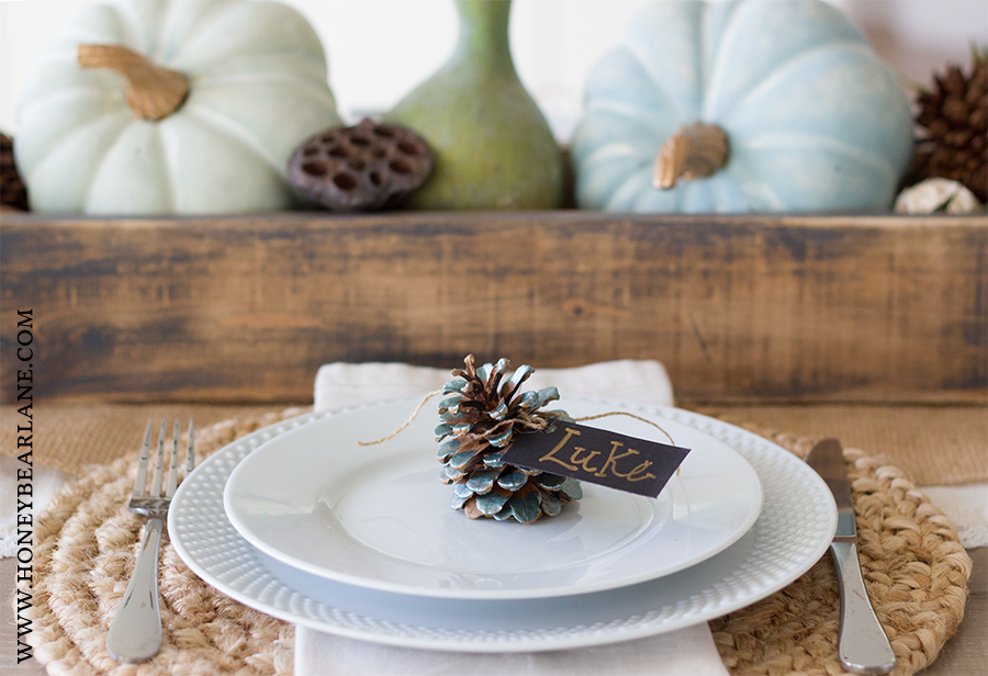 metallic-green-pinecone-place-card