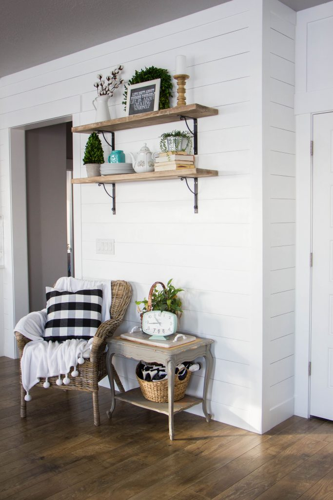 Shiplap Dining Room Honeybear Lane