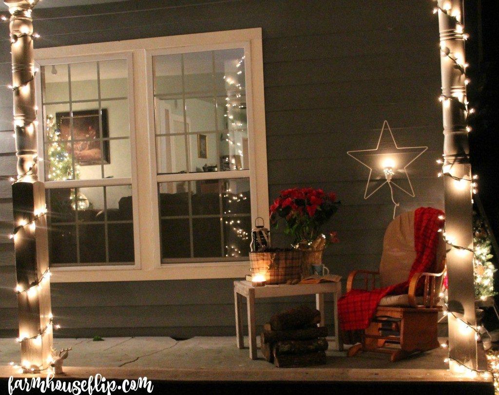 25 Beautiful Farmhouse Christmas Porches Honeybear Lane