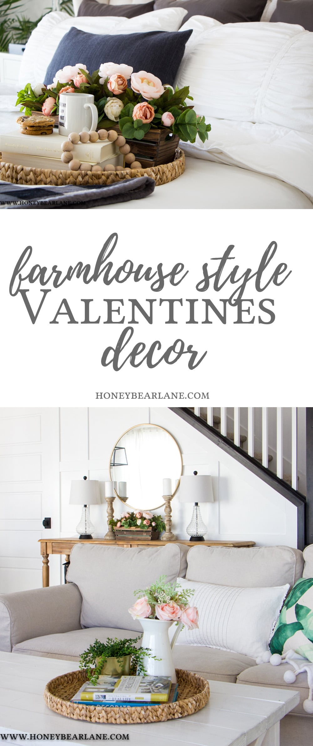 Farmhouse Style Valentines Decor Honeybear Lane