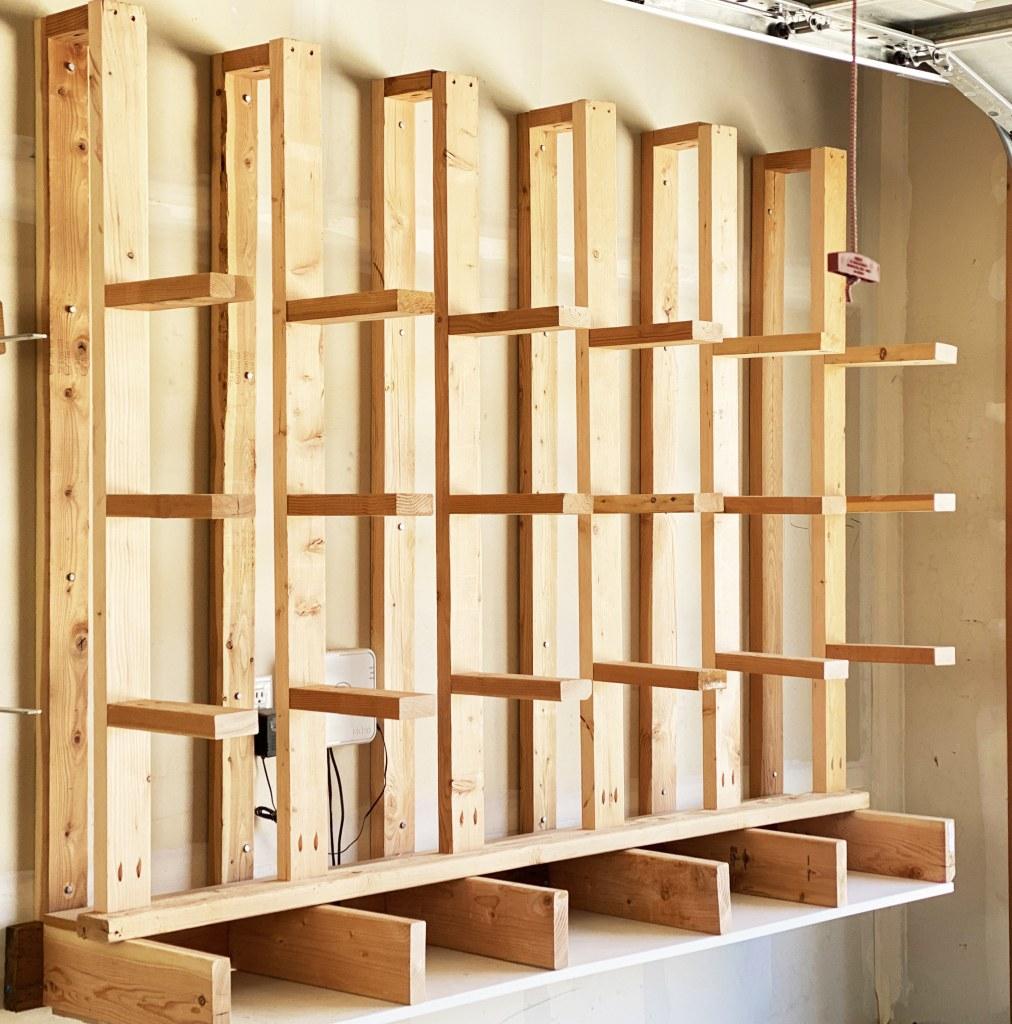 diy lumber organizer plans
