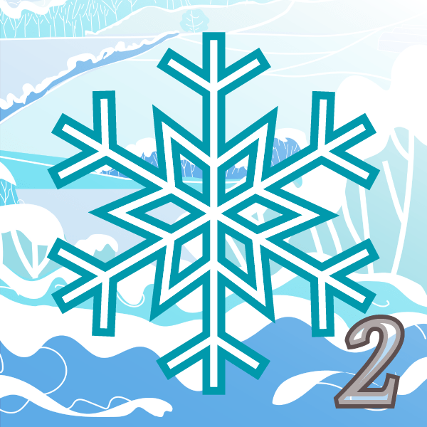 Advent 2 Snowflake