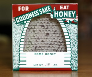 Ready to eat comb honey