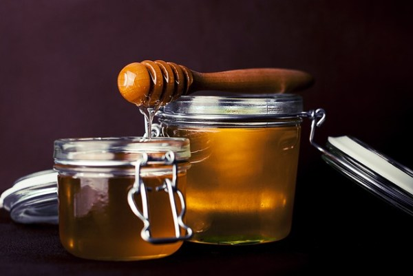 Honey in a clear jar. Is this honey cut with sugar syrup?