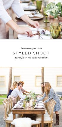 How to Organize a Styled Shoot to ensure a flawless creative collaboration!