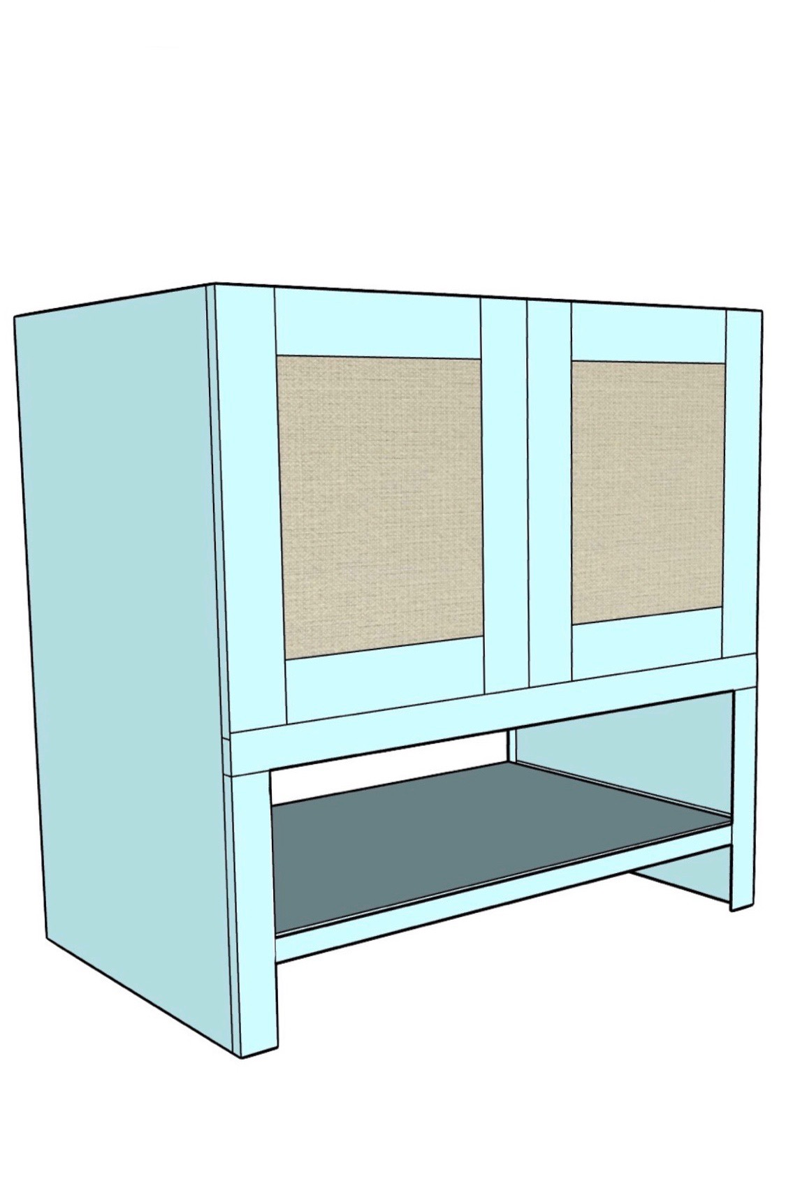 How To Build A Bathroom Vanity Honey Built Home