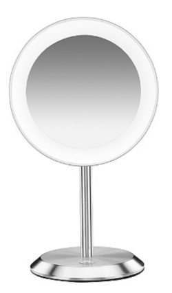 Conair - Satin Chrome LED Vanity Magnifying Mirror