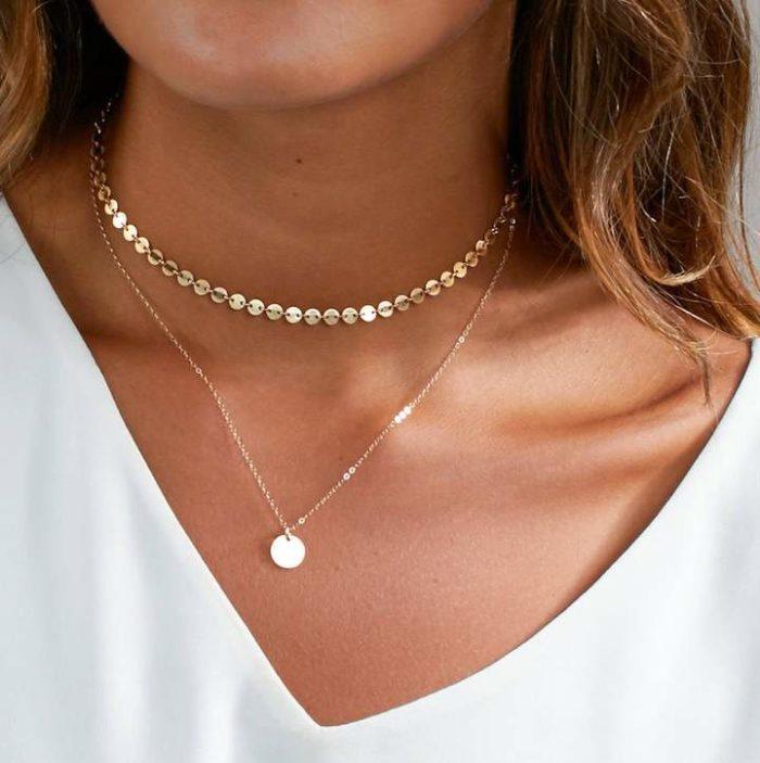 Etsy Dainty Choker Necklace