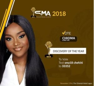 Davido Buys Chioma A Gift As 'Chef Chi' Receives Nomination For An Award