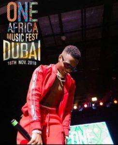 """""""Wizkid"""" Promises 5 Fans A Special Weekend With Him In Dubai This Novemeber"""