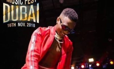 """Wizkid"" Promises 5 Fans A Special Weekend With Him In Dubai This Novemeber"