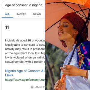 Singer Dija moves the motion for a change of the consent age in Nigeria